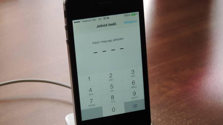 Kukkolják az iPhone-od? kép