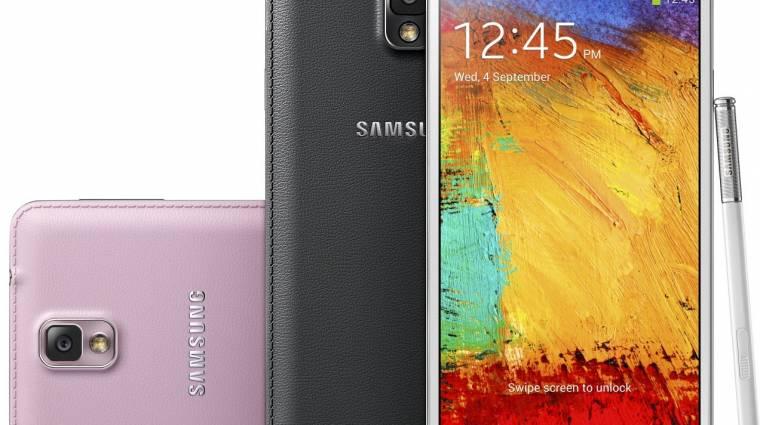 Új frissítés érkezett a Galaxy Note 3-hoz kép