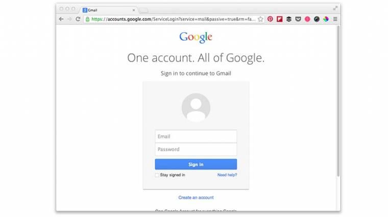 Új belépőképernyőt kap a Gmail kép
