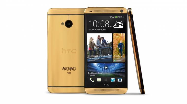 A HTC arany telefonja 4400 dollárba kerül kép