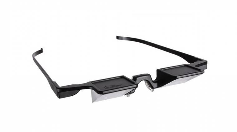 Fényt elhajlító szemüveg tabletfüggőknek kép