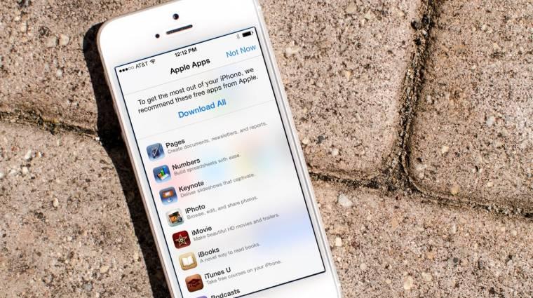Visszaadja az iOS-es szoftverei árát az Apple kép