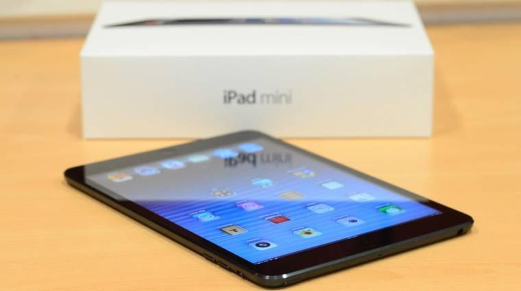 Megint késik a retinás iPad mini kép