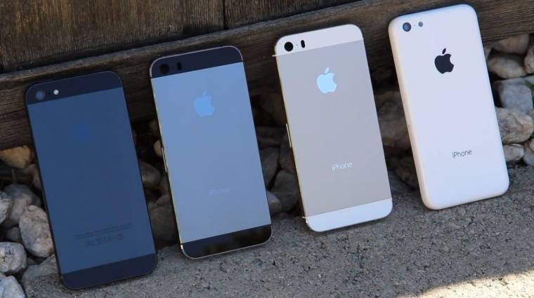Az iPhone 5S sokkal nagyobb siker az iPhone 5C-nél kép