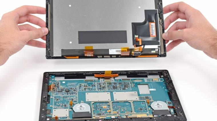 Szinte javíthatatlan a Surface 2 kép