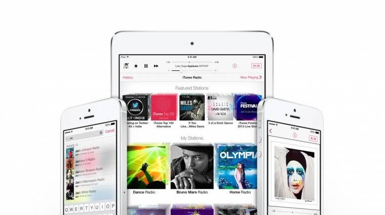 Tempósan terjedhet az iTunes Radio kép
