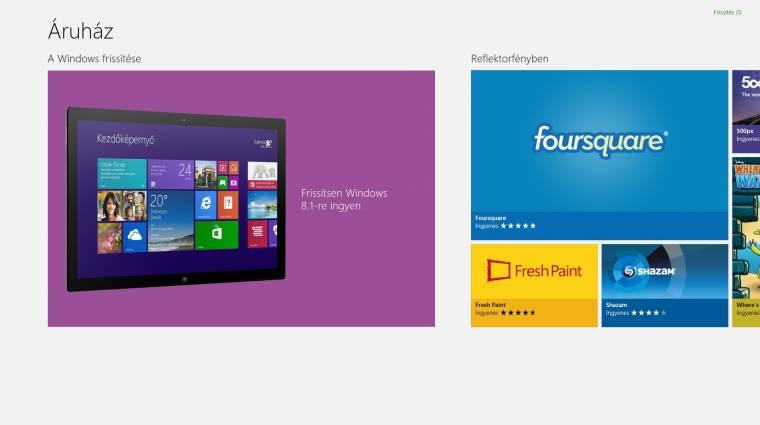 Letölthető a Windows 8.1 kép