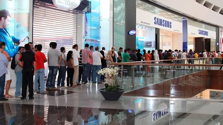 Rekordnyereségre számít a Samsung  kép