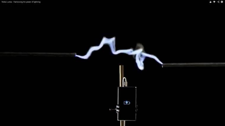 A Nokia a villámok energiájával töltené a mobiltelefonokat kép