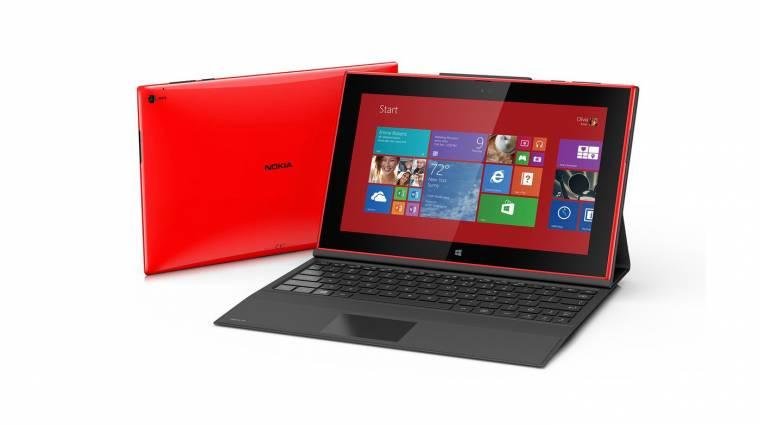 Nokia Lumia 2520: itt a finnek első tabletje kép
