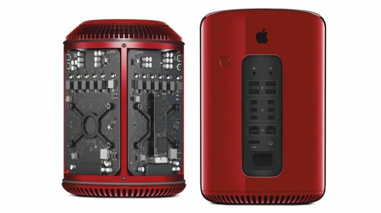 12 millióba kerül egy piros Mac Pro kép