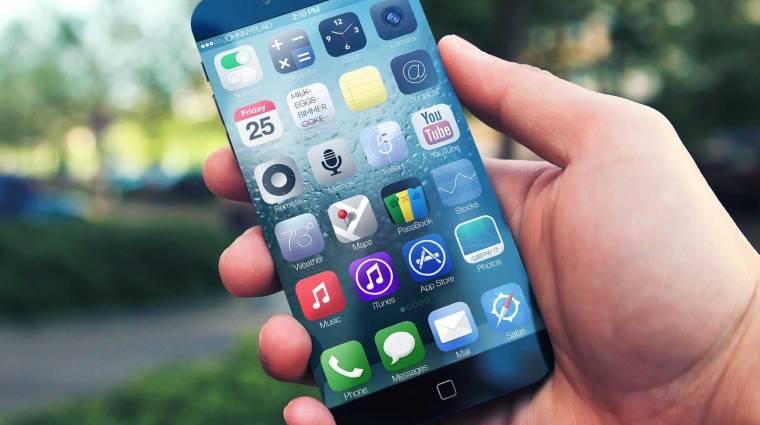 Jövő szeptemberben jön az iPhone 6 kép