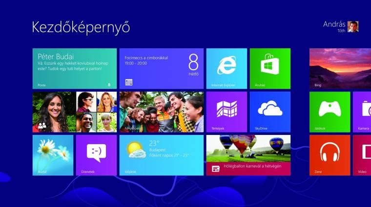 Elérhető a Windows 8.1 RTM próbaváltozata kép