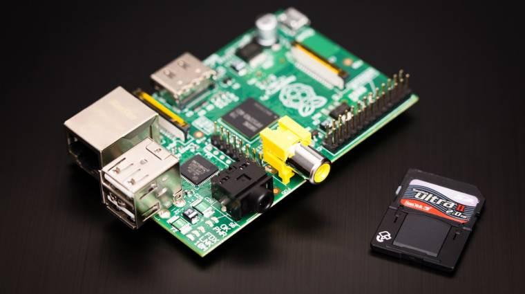 Raspberry Pi: már több mint 2 milliót vettünk kép