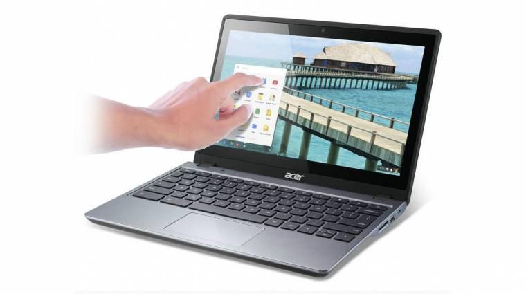 Érintős Acer noteszgép 299 dollárért kép