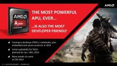 Brutálisnak ígérkeznek az AMD Kaveri APU-k kép
