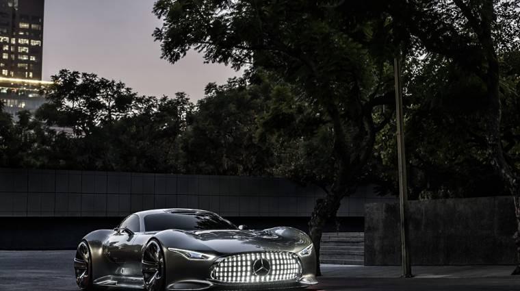 Elképesztő szupersportautó a Mercedestől kép