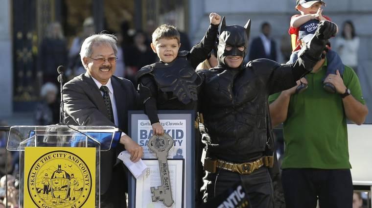 Ötéves szuperhős mentette meg San Franciscót kép