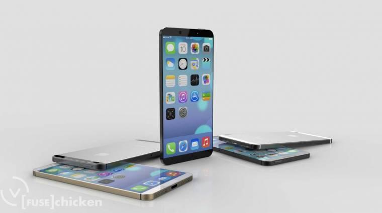 Jönnek a nagy, hajlított iPhone-ok kép
