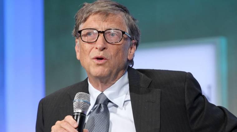 Gates a könnyeivel küszködve beszélt a Microsoft új CEO-jának kiválasztásáról kép
