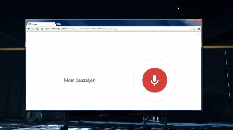 Egyszerűbb lett beszélgetni a Chrome böngészővel kép