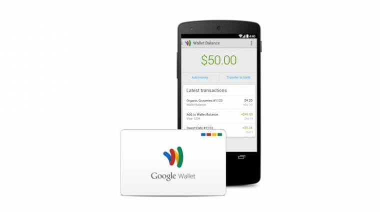 Ingyenes bankkártyával újított a Google kép
