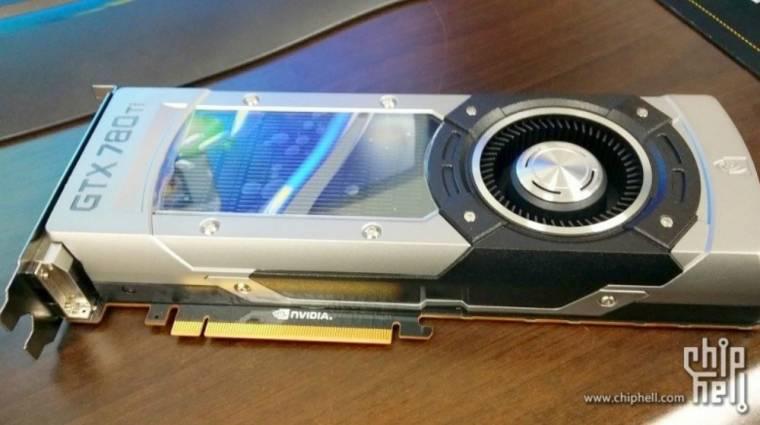 Mégis nagy durranás lehet a GeForce GTX 780 Ti kép