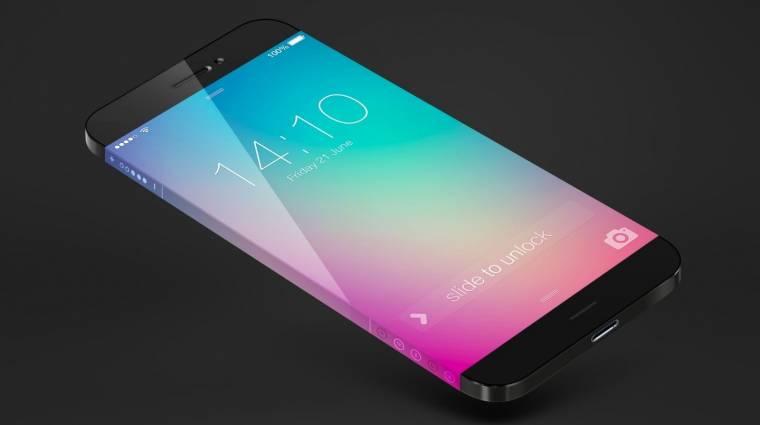 Minden oldalról kijelző boríthatja az új Samsung Galaxyt  kép