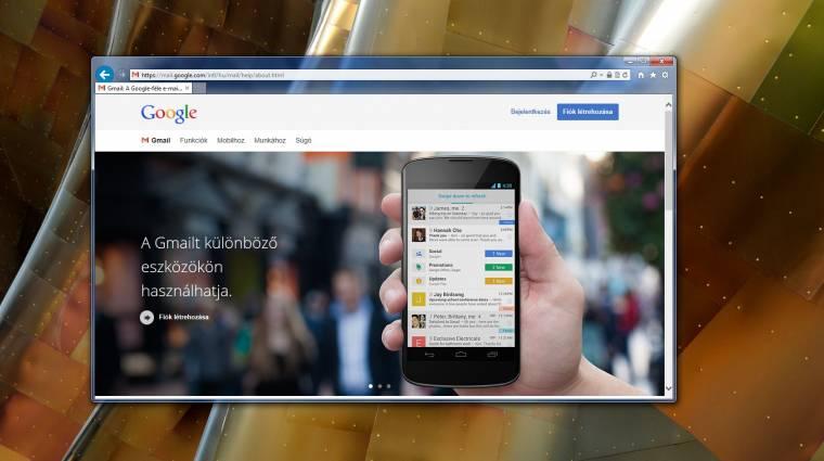 Google Apps: véget ért az IE9 támogatása kép