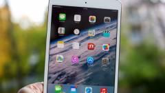 Gond van a retinás iPad minik kijelzőivel kép