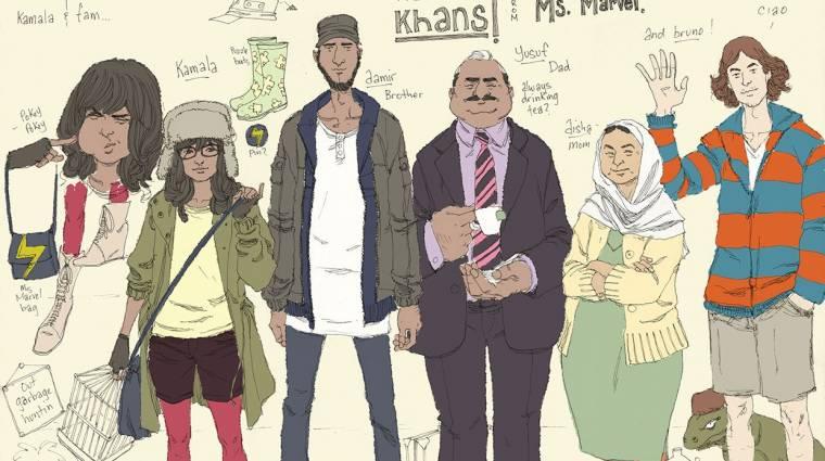 Muszlim szuperhőssel újít a Marvel kép