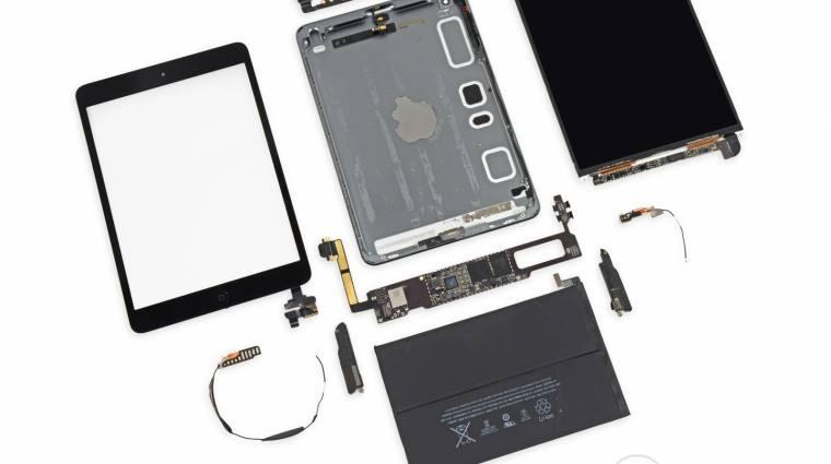 Így néz ki belülről a retinás iPad mini kép