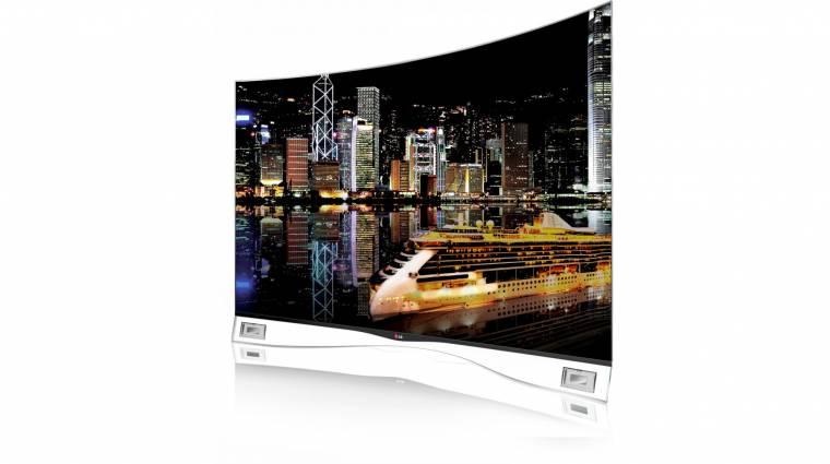 Jön hazánkba az LG hajlított tévéje kép