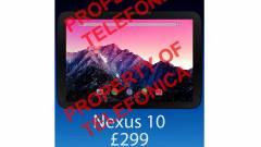 Pénteken válhat hivatalossá az új Nexus 10 kép