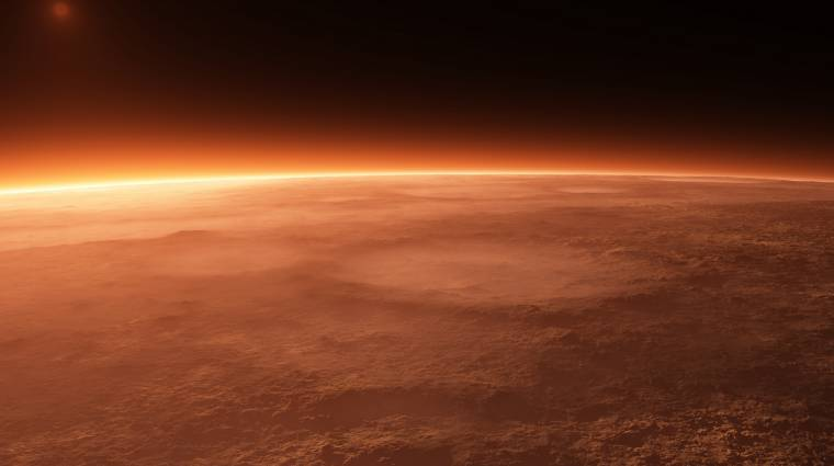 Ilyen lehetett a Mars négymilliárd évvel ezelőtt kép