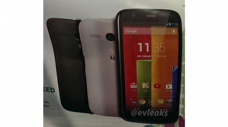 Kiváló középkategóriás telefonnal jöhet a Motorola kép