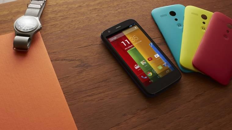 Olcsón nyújt sokat a Motorola Moto G kép