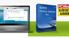 AOMEI Partition Assistant Pro - particionálás felsőfokon kép