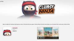 Parádéval debütált az egy évet késő Clumsy Ninja kép