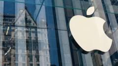 Magasba törtek az Apple részvényei kép