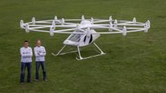 Sikeresen tesztelték a világ első elektromos helikopterét kép