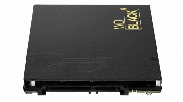 Egyben SSD és merevlemez a WD háttértára kép