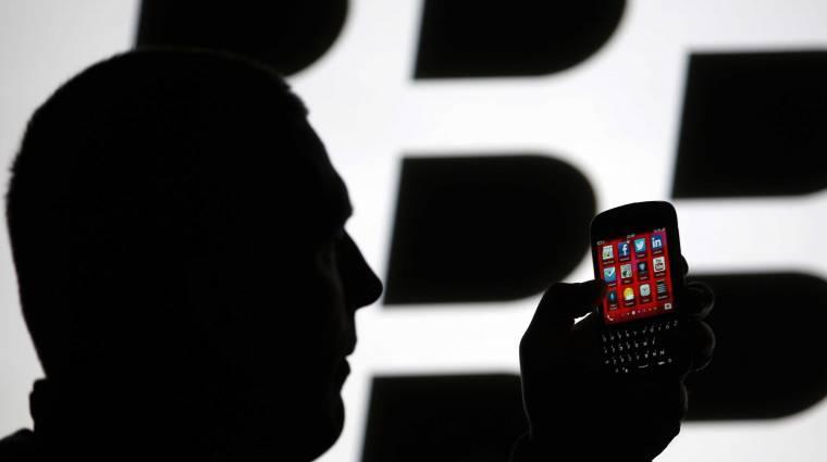 Bajban a BlackBerry: alig 1,1 millió BB10-es okostelefont adtak el kép