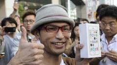 Japán: 10-ből 9 okostelefon iPhone kép