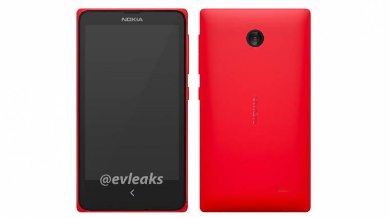 Androidos mobilon dolgozik a Nokia kép