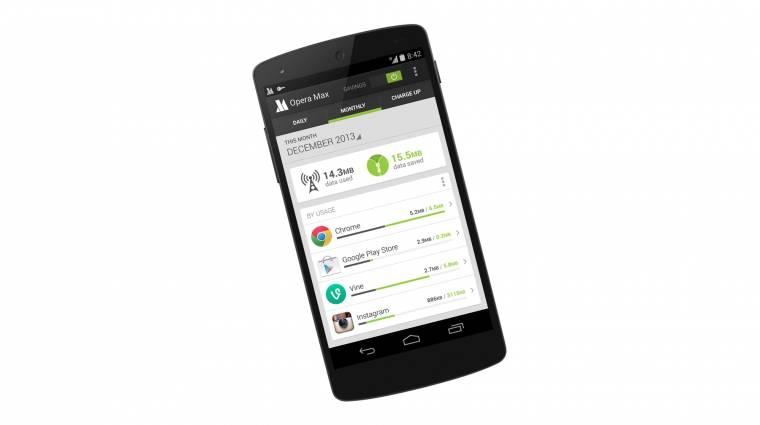 Androidos adatforgalmat csökkentene az Opera kép