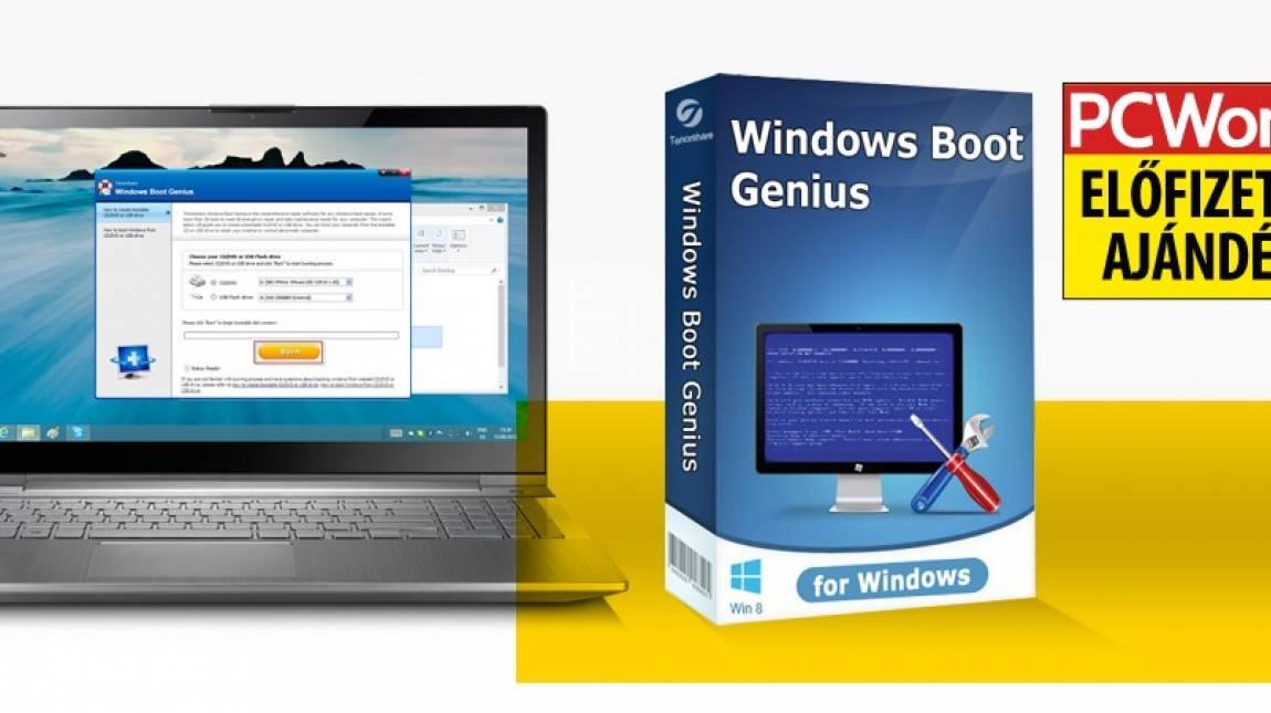 Windows Boot Genius - a kék halál ellenszere kép