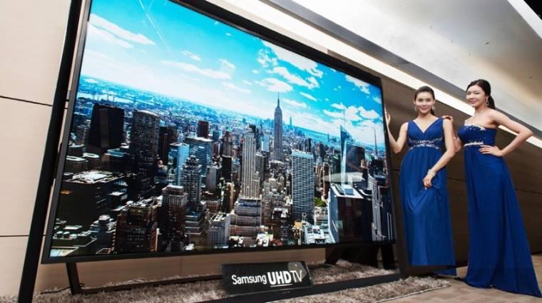 110 hüvelykes Ultra HD TV a Samsungtól kép