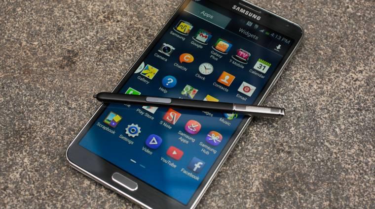 Olcsó testvért kaphat a Galaxy Note 3 kép