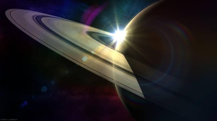 Titokzatos gubanc a Szaturnusz külső gyűrűjén kép